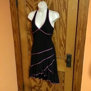 Vintage Dresses - Vintage sexy dressy layered little black dress